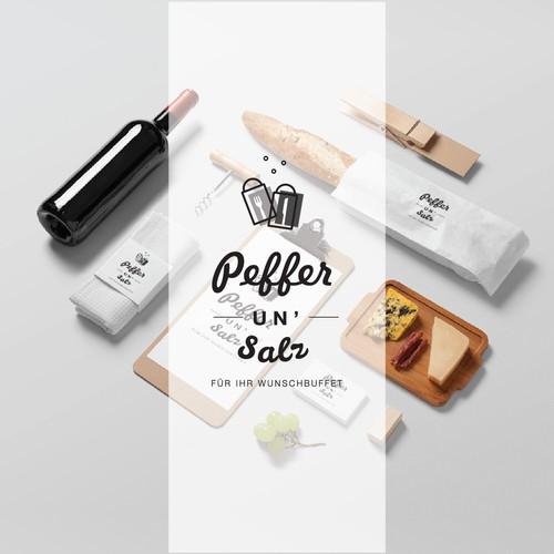 Logo option for Peffer un' Salz