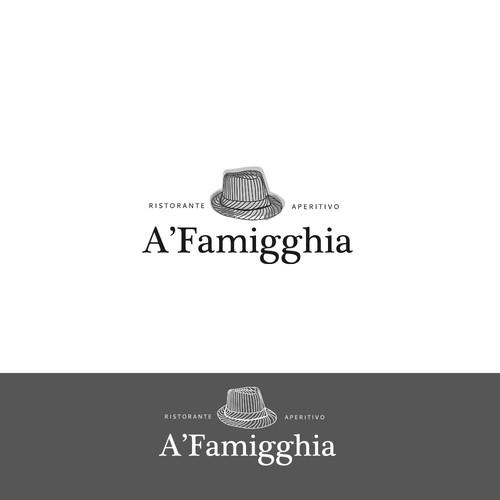 Logo pour un restaurant italian