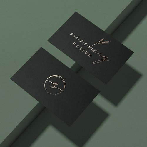 Gestalte ein feminines Logo für eine Hochzeits- & Eventagentur.