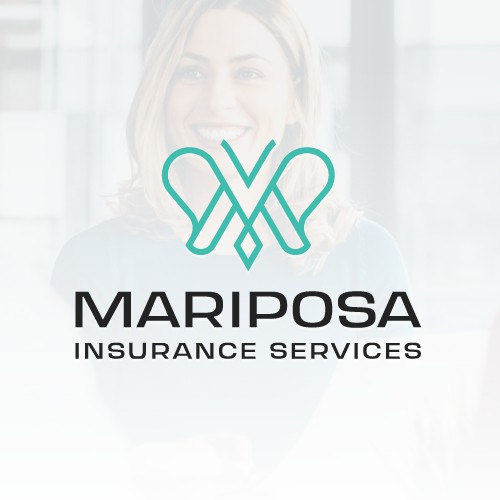 Logo designs for insurance services company.