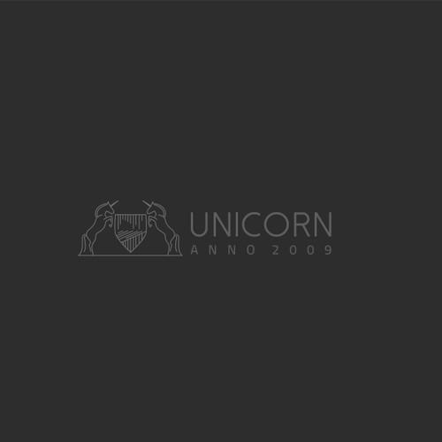 Clean trendy Scandinavian minimalist logo