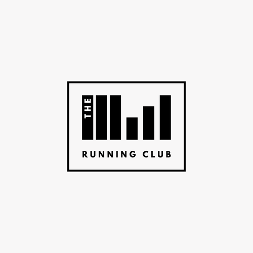Bold Logo For Running And Fitness Club