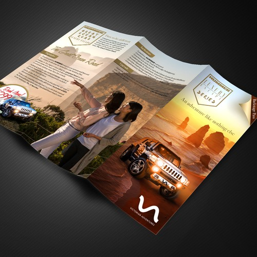 Brochure for luxury travel agency