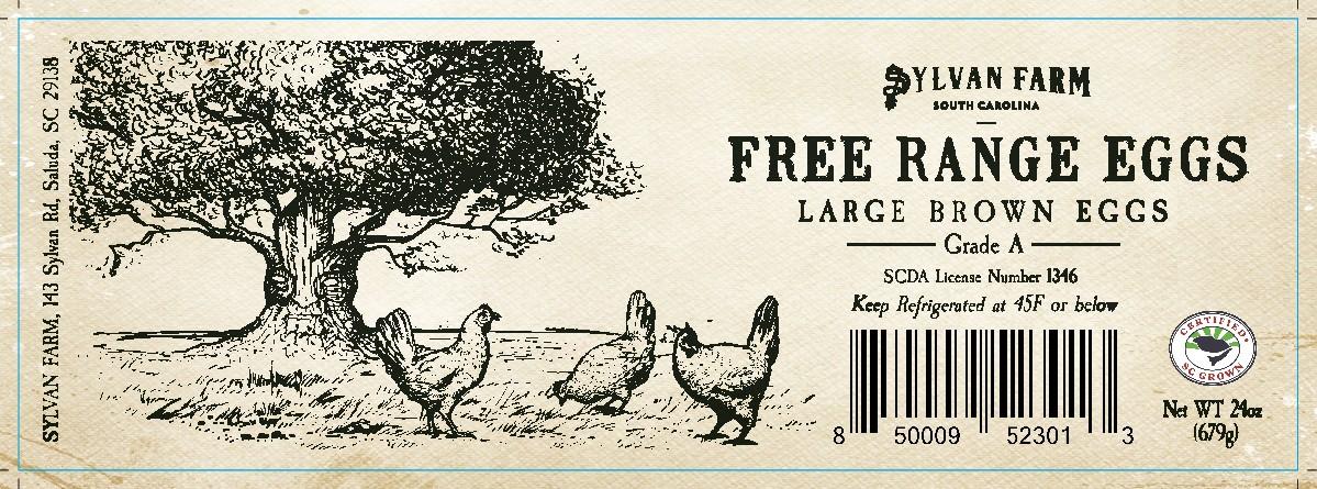 Egg carton label