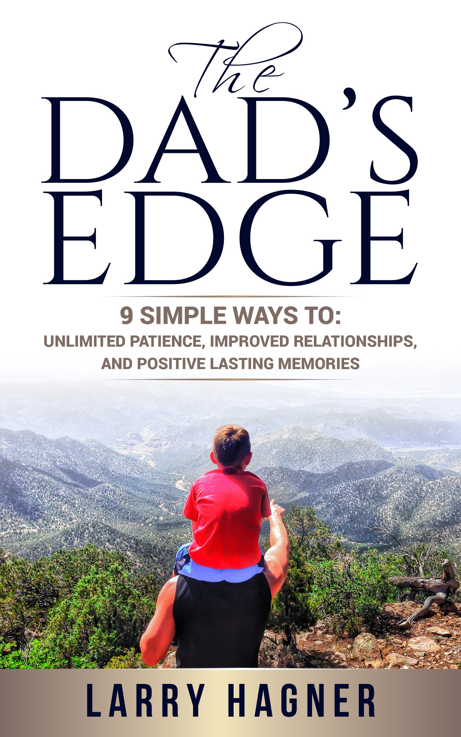 CREATE A COVER OF A BOOK THAT WILL HELP DADS BE AMAZING AND SHOW UP BETTER FOR THEIR FAMILIES