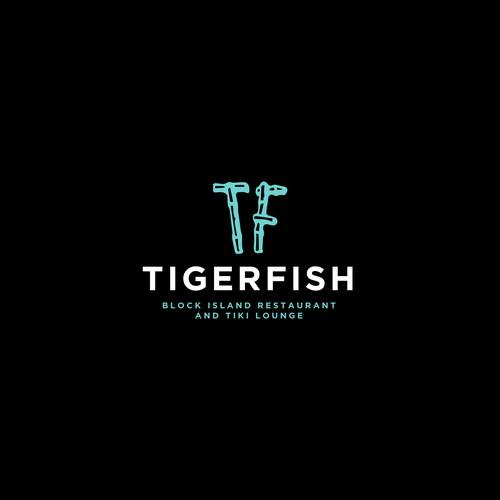 TigerFish Custom Logo Design