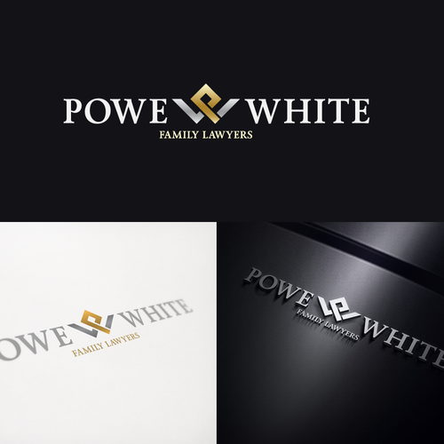 logo for Powe & White Family Lawyers