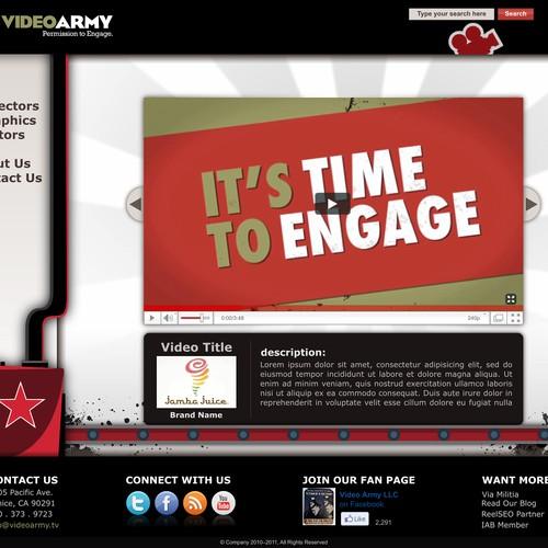 Digital agency seeks creative web design. Must love video.
