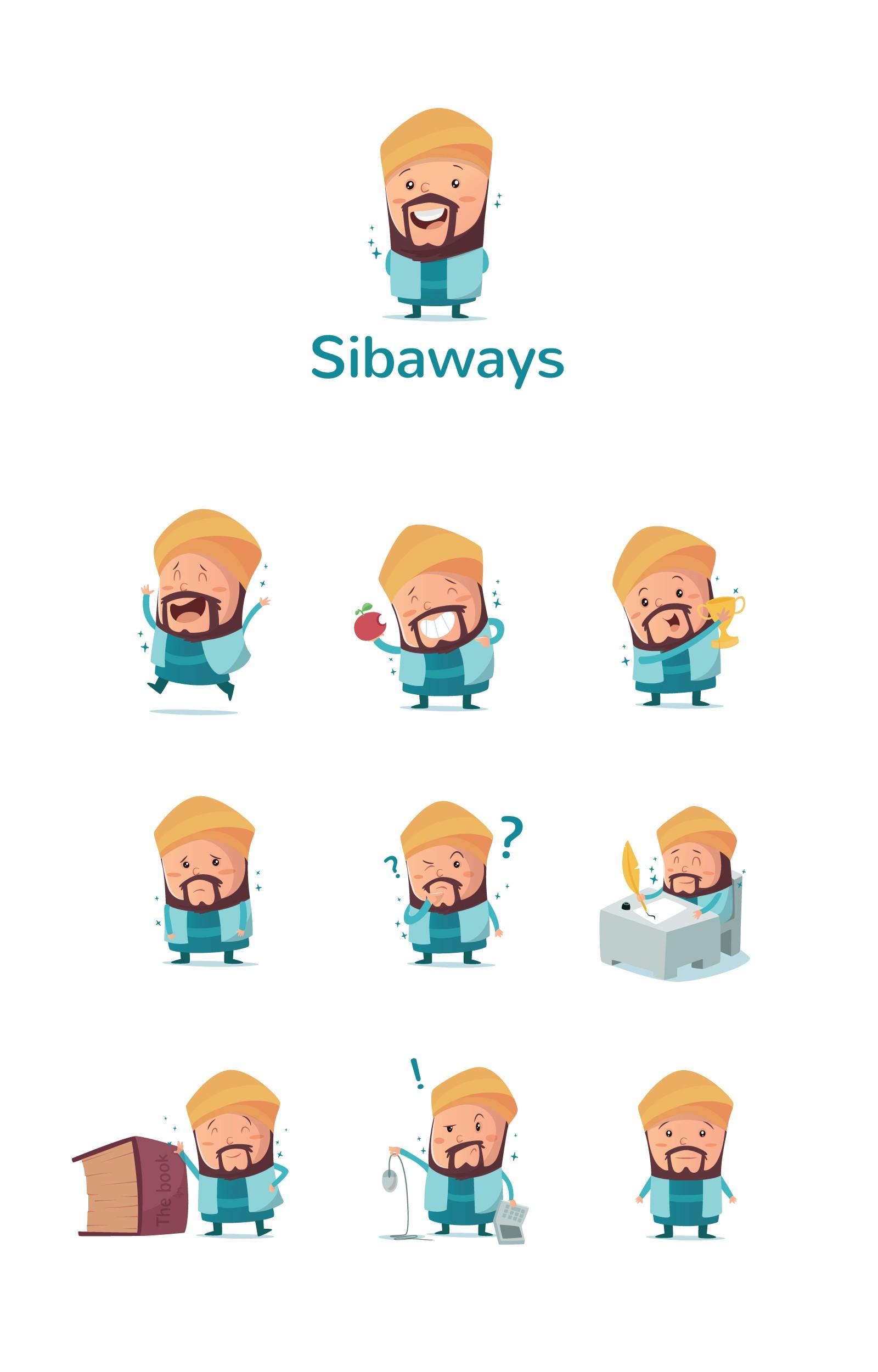 Sibaways | Mascot Logo