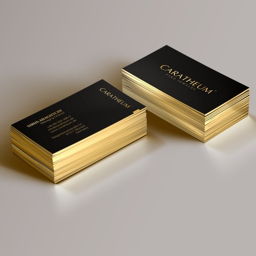 Expensive and Elegant Business Card