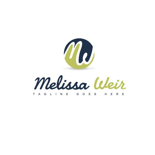 logo and business card for Melissa Weir