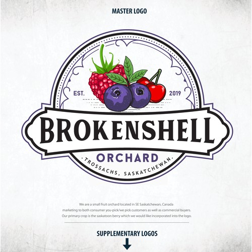 Logo For Brokenshell Orchard
