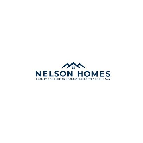 Bold logo for Real estate