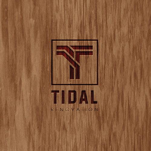 """letter """"T"""" monogram concept"""