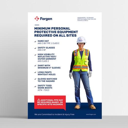 Forgen - Safety Poster