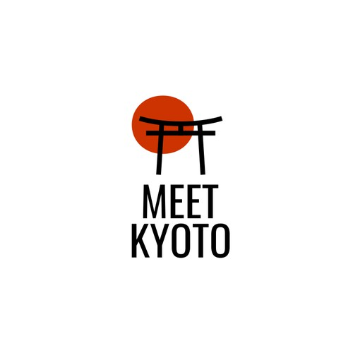 Bold and Minimalist Logo for Meet Kyoto