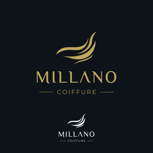 Luxury logo for Millano