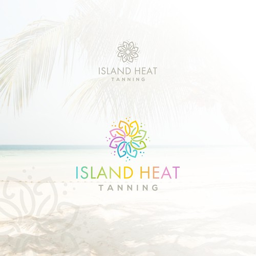 Logo for tanning business