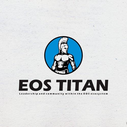 EOS TITAN logo concept