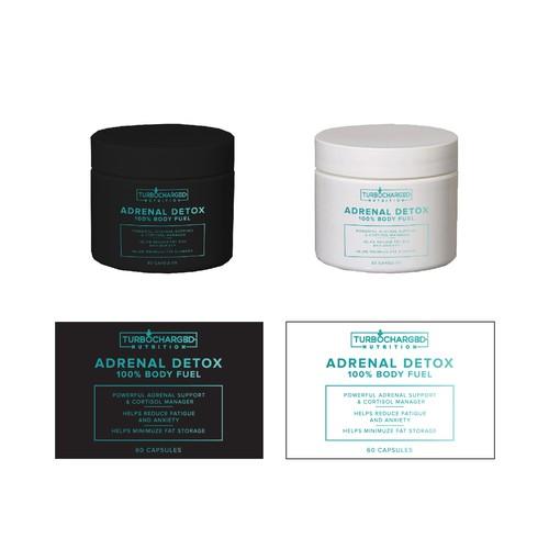 Adrenal Detox Label #3