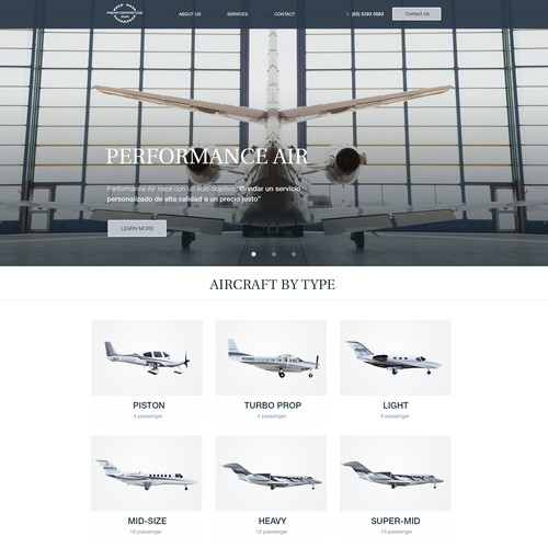 Performance Airlines Web site
