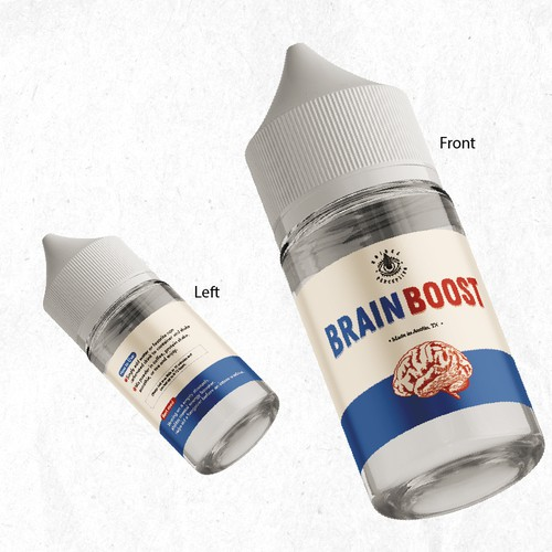 Product Label For Brain Boost