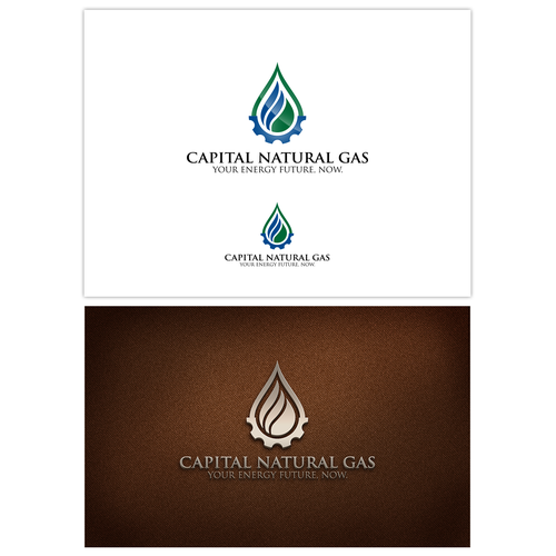 Create a inspiring logo for a Natural Gas pipeline company