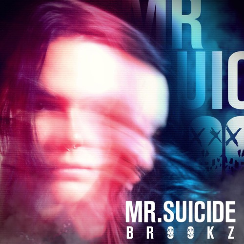"Album Art for ""Mr Suicide"" Single"