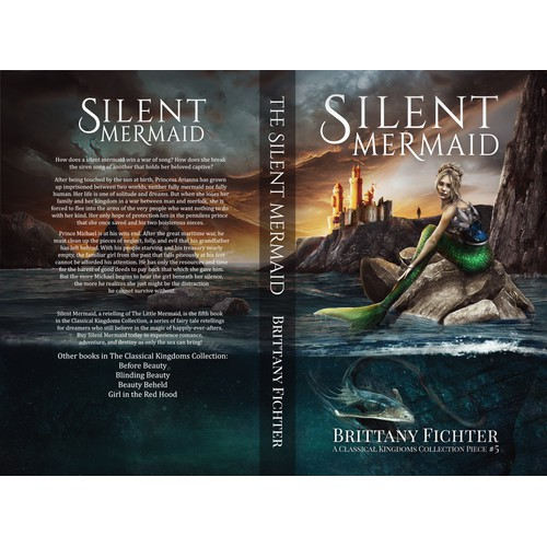Silent Mermaid / book cover