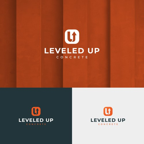 Logo Design - Leveled UP