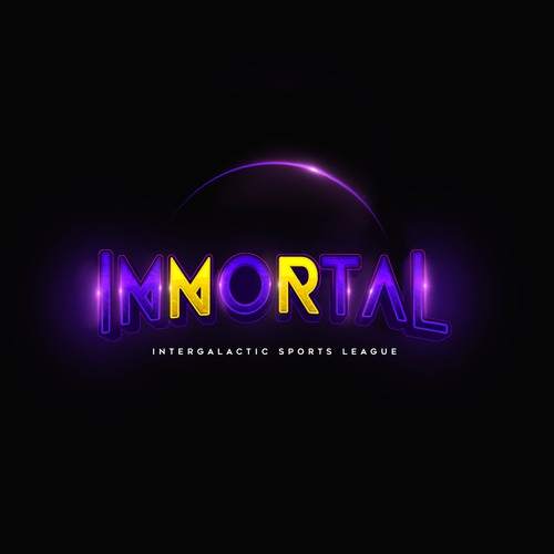 Logo Design entry for Immortal, intergalactic sports league