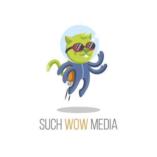 Alien Cat for Media Company