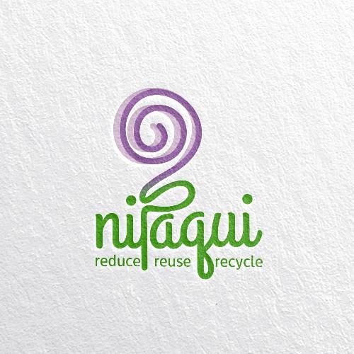 Logo Nipaqui for Reduce, Reuse, Recycle