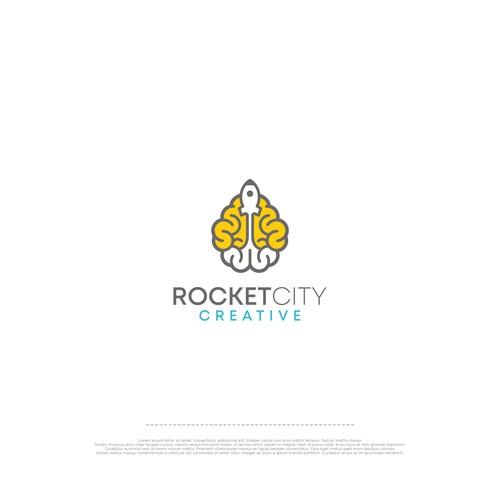Logo Rocket City Creative