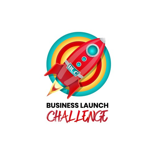 Rocket Logo for Business Launch Challenge