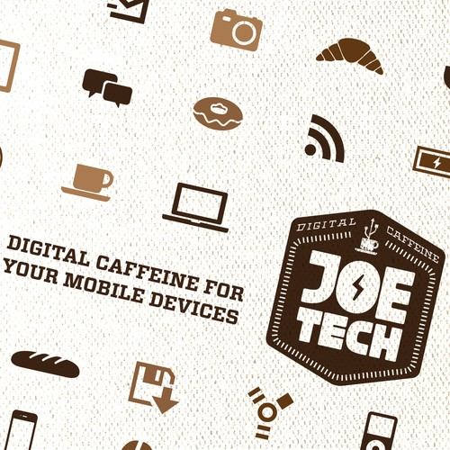 Help Joe Tech with a new logo