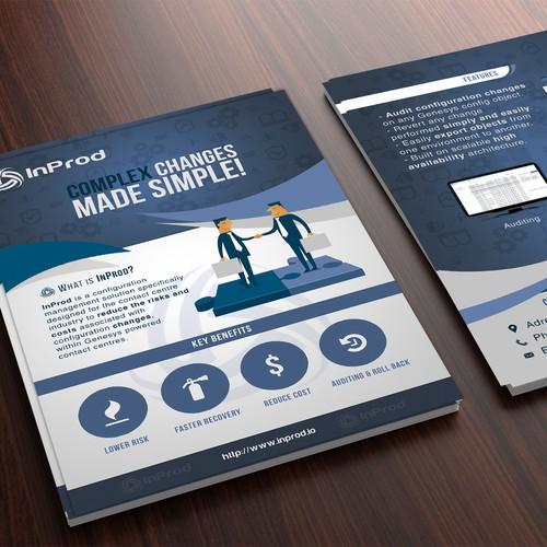 Brochure design for Inprod Company