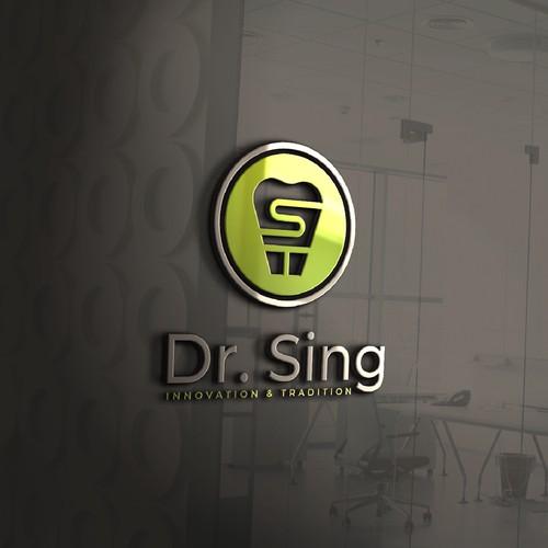 Fresh logo design for modern dental practice