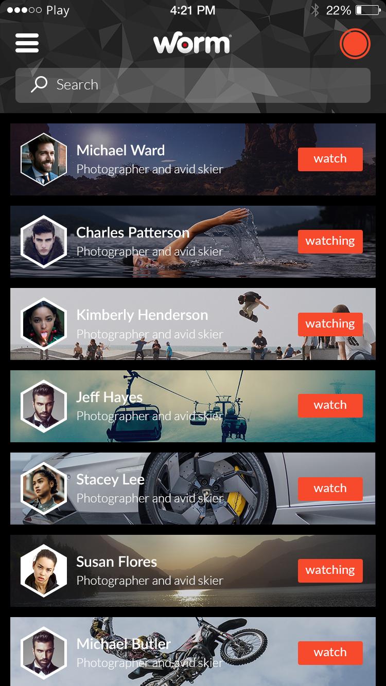 UI slides/Webplayer