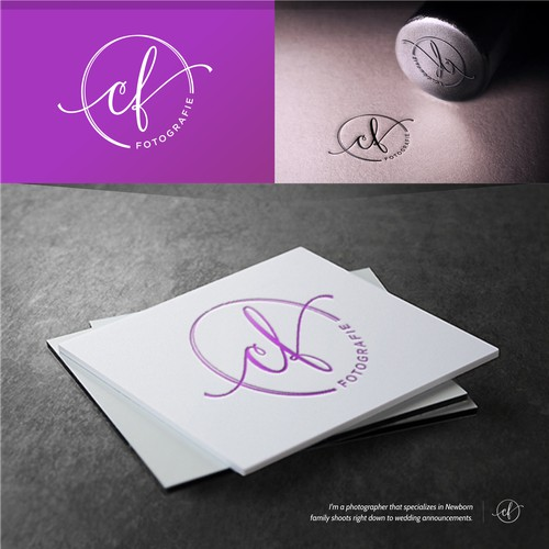 Simple & Stylish Elegant logo for Christine Findik