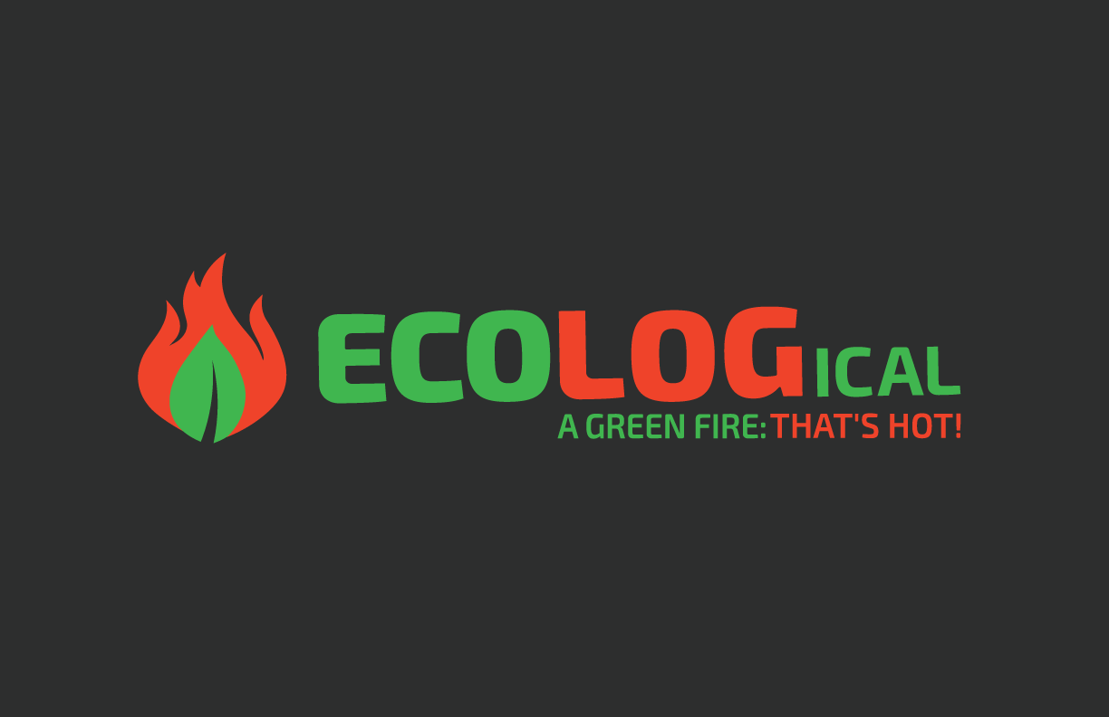 Create a modern & ecological logo and website design for our green fire