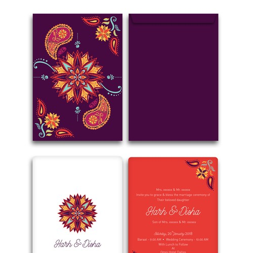 Punjabi Wedding Invitation