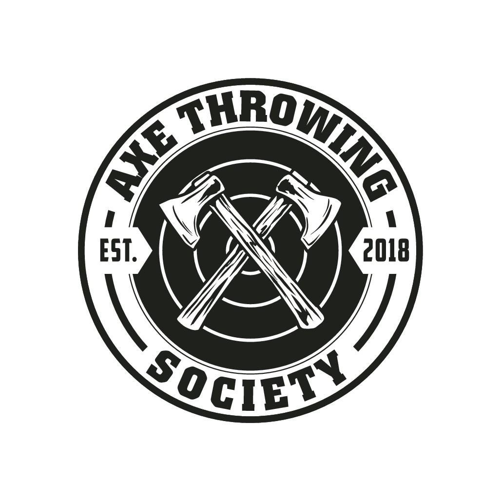 Design awesome logo for axe throwing facility