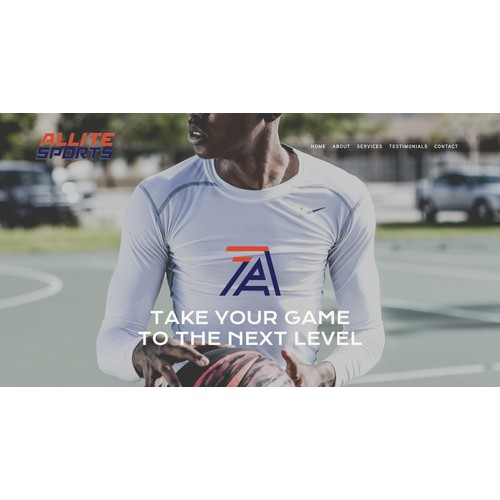 Squarespace website for Los Angeles sports coach