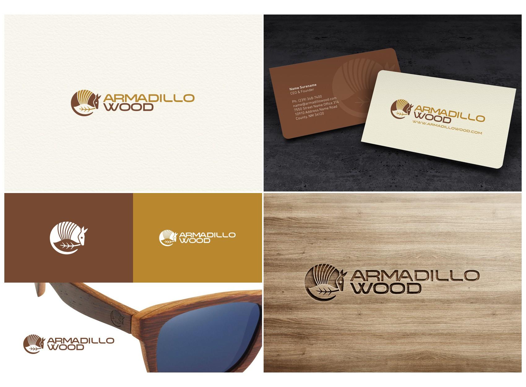 Create a Logo for Armadillo Wood