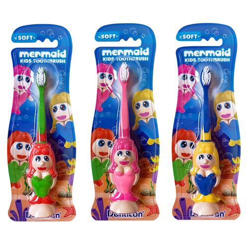 Mermaid Shape Kid's toothbrush