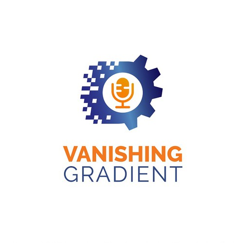 logo for machine learning podcast