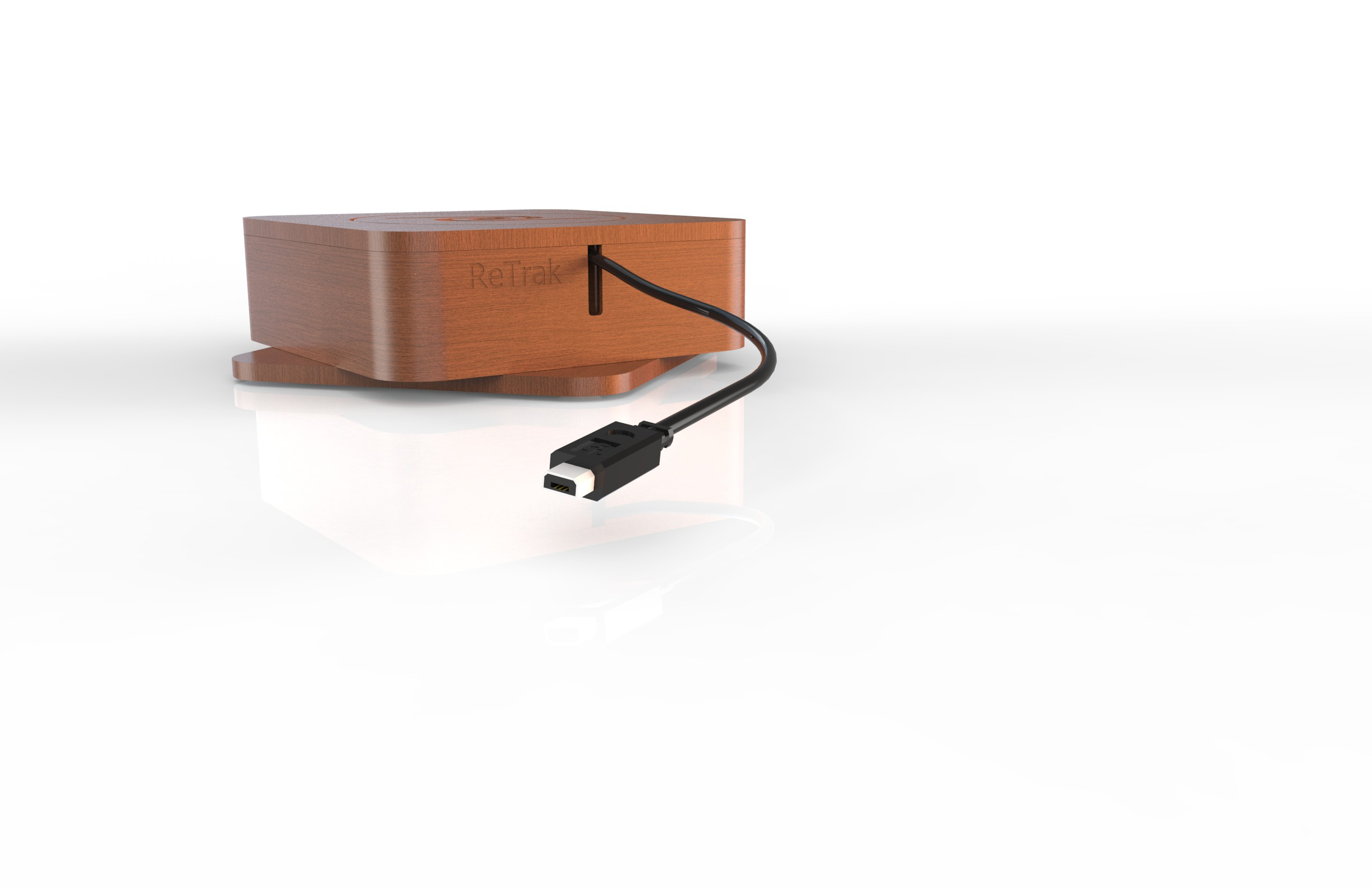 Design a Charge Cable Dock for a Night Stand