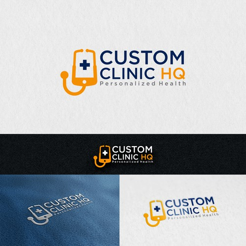 Logo for Custom Clinic HQ