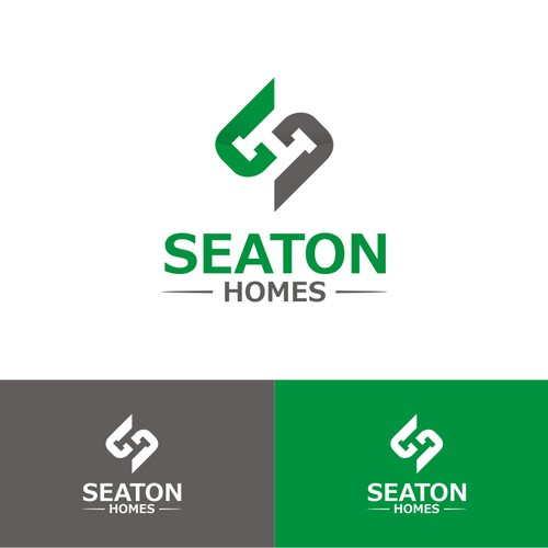 logo for seaton homes
